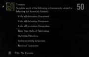 Dynamo Achievement
