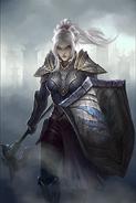 Mournhold Guardian card art