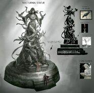 Nocturnal Statue ESO Concept Art
