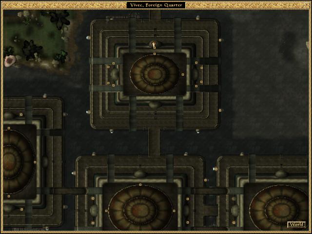 File:Vivec, Foreign Quarter, Lower Waistworks, Miun-Gei Enchanter Map Morrowind.png