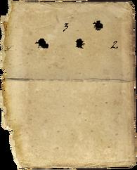 Обрывок бумаги
