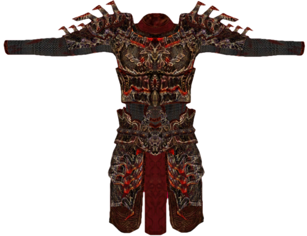 File:Daedric Armor (Oblivion) Female.png