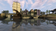 Ebonheart waterfront - Morrowind