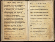 The Cantatas of Vivec