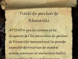Traité du perchoir de Khenarthi