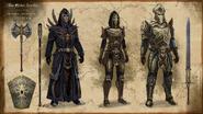 Trinimac Armors Concept Art