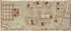 Дом Андрагил. Карта