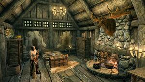 Дом Лейгельфа - за уборкой