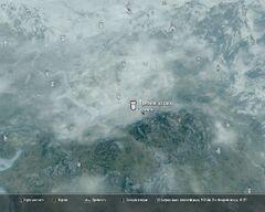 Туманная застава карта