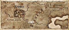 Форт Эш (Карта)