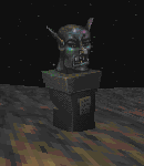 The ugly bust (Daggerfall)