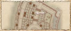 Дом Самриэль. Карта