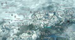 Статуя Меридии Карта Statue to Meridia Map 001