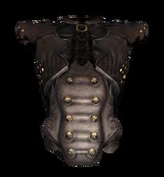 Чёрный пышный наряд