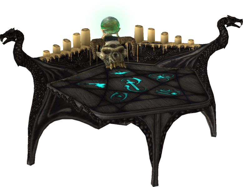 Arcane enchanter skyrim elder scrolls fandom powered by wikia the arcane enchanter is a magical table that allows the dragonborn to create their own magical items and learn the enhancements from other items by malvernweather Image collections