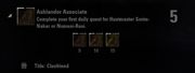 Ashlander Associate Achievement