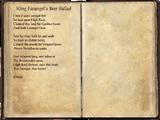 King Farangel's Beer Ballad