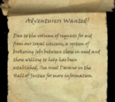 Adventurers Wanted!