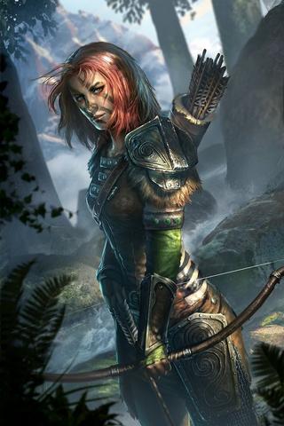 File:Aela the Huntress Legends Cart Art.png