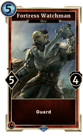 Card-Fortress Watchman