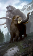 Young Mammoth card art