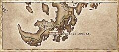 Вайтарн. Карта