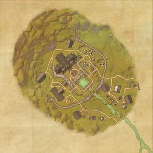 Замок Алькаир (план)
