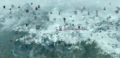 Святилище Мерунеса Дагона Карта Shrine of Mehrunes Dagon Map 01