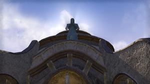 Статуя святого Делина