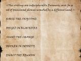 Dwarven Writings