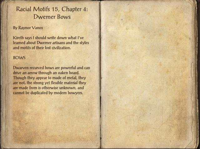 File:Racial Motifs 15, Chapter 4- Dwemer Bows.png