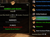 Recipes (Online)
