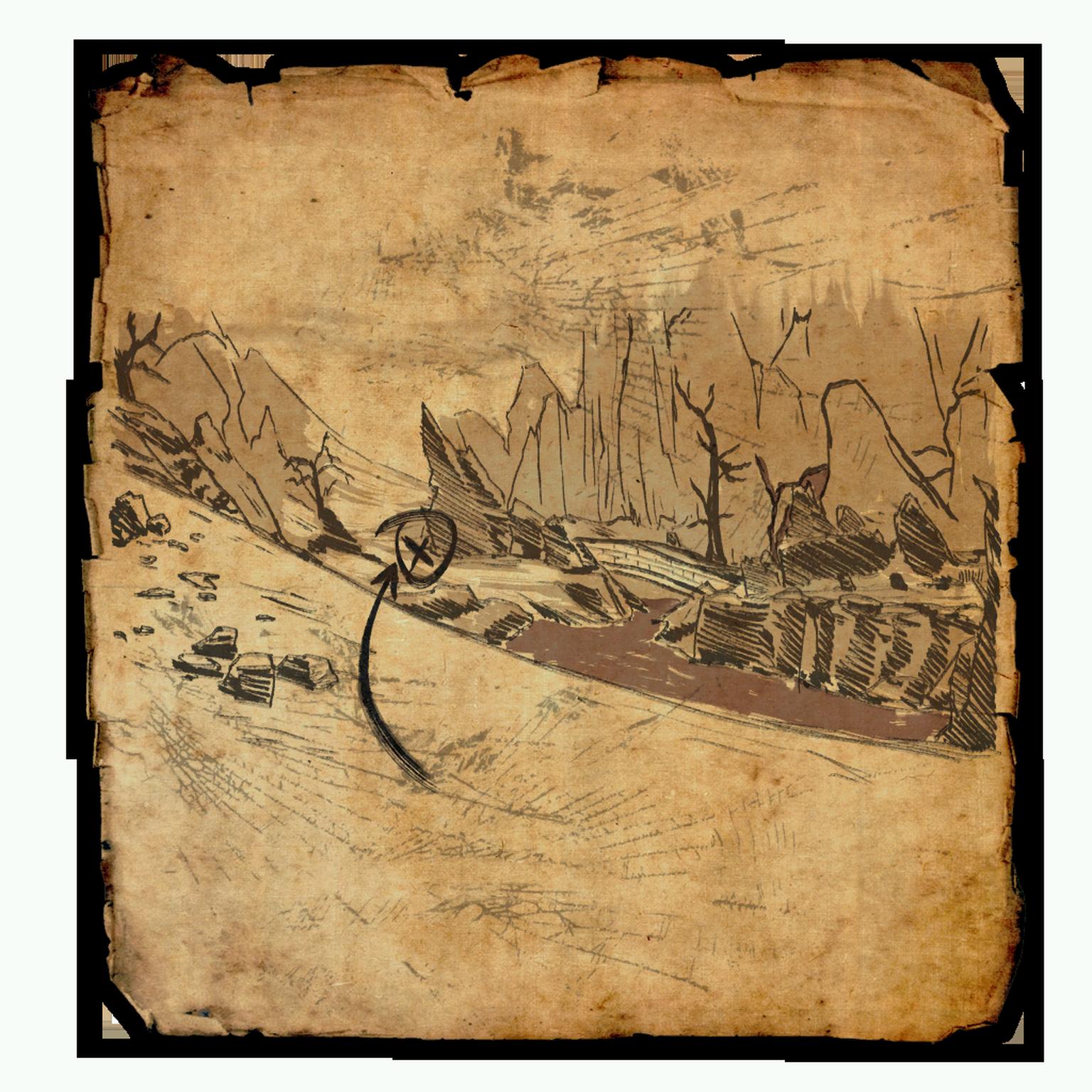 Stonefalls Treasure Map VI | Elder Scrolls | FANDOM powered ...