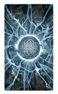 Storm Atronach card back SP