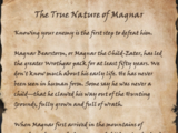The True Nature of Magnar