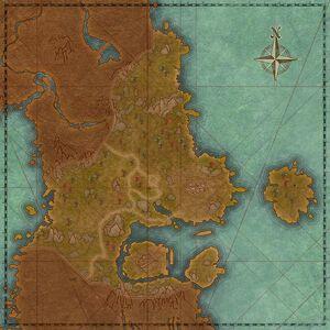 Каламбар (карта)