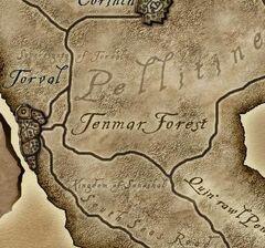 Лес Тенмар