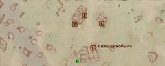 Спящая кобыла - карта