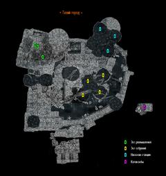 Тихий город - план