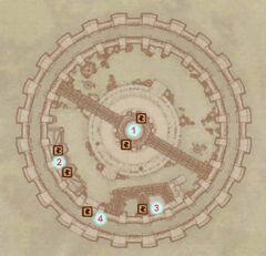 Тюрьма Имперского города (карта)
