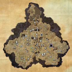 Хладная Гавань-Деревня потерянных-Карта