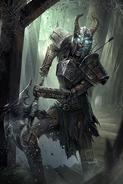Imprisoned Deathlord card art