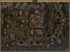 Яичная шахта Гнисиса. Карта