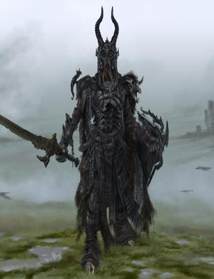 Detail of Draugr Concept Art