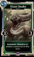 Giant Snake DWD