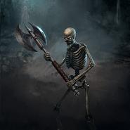 Skeleton Champion card art