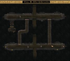 St Delyn Underworks Local Map Morrowind