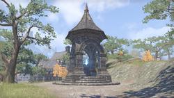 Дорожное святилище деревни Кеглин