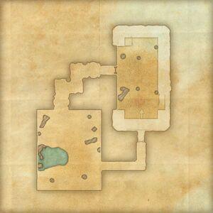 Пещера леса Верним (план)