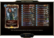 Aela's Companions deck